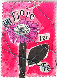 cartolina fiore