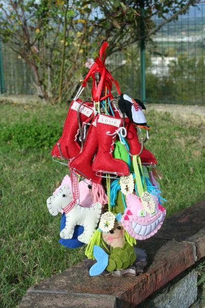 Decorazioni albero natalizio